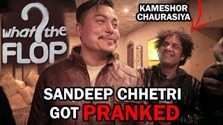 Sandip Chettri got pranked Ft Kameshor Chaurasiya and Abhay Baral || Set of America Boys