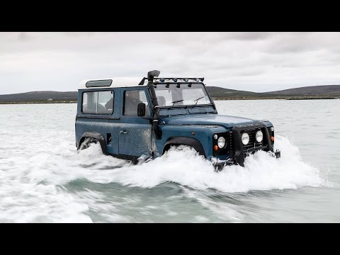 Land Rover Defender vs the Atlantic Ocean – and the car wins just