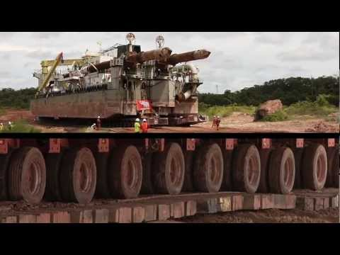 Technology The Incredible Journey of a Dredge through the Jungle