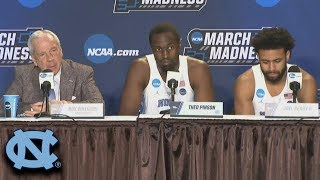 UNC Full Press Conference After 2nd Round Loss To Texas A&M (2018)