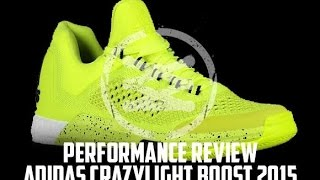 adidas CrazyLight Boost 2015 Performance Review