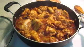 Murgi bhuna (chicken)