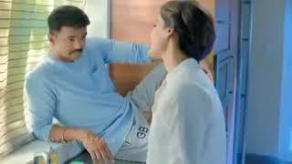 Theri romantic scene , vijaY and  Samantha ..