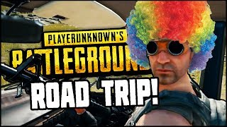 BATTLECLOWNS ON A ROAD TRIP | Playerunknown