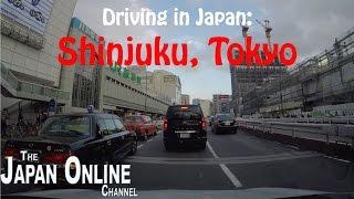 Driving in Japan: Around Shinjuku, Tokyo