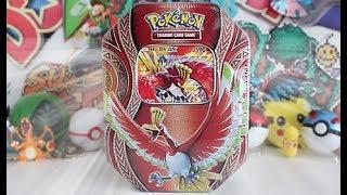 Opening A New Pokemon Ho-Oh GX Tin