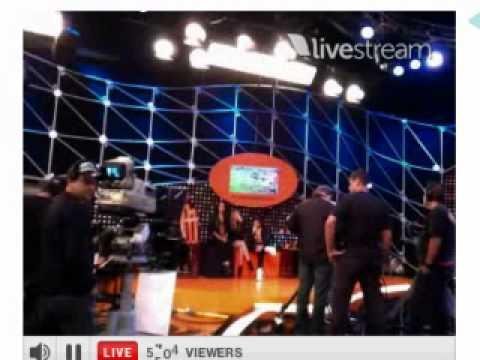 Twitcam dos Rebeldes ao vivo no Legendários 11 06 2011