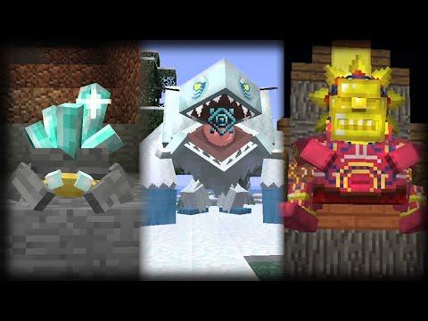 Mowzie s Mobs Minecraft Mod Showcase 1.12.2