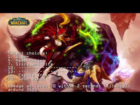 Heroes of the Storm Valeera one shot build