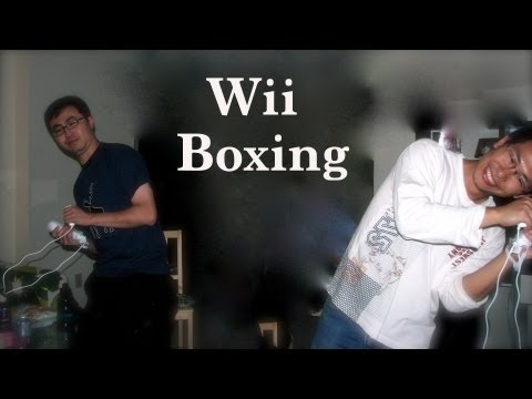 Wii Boxing players video a full match of three rounds