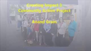 Anand Gram Creating Impact IV August 2016