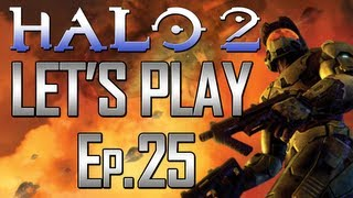 Halo 2 - Let's Play! Ep 25. - Gravemind! with Arby and Chief