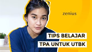 #ZeniusQnA Seputar Belajar dan TPA / TPS SBMPTN bersama Wilona Arieta