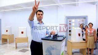 Report TV - Gara në PD,demokratët zgjedhin kryetarin e ri, mbyllet votimi