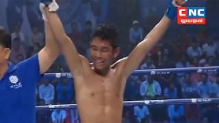 Khmer Boxing Daily, ហ៊ីន រិទិ្ធសក្តិទ្ធ ប៉ះ  រឿង សារិទ្ធ ,  Kun Khmr Boxing, CNCTV Boxing
