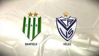 Fútbol en vivo. Banfield vs. Vélez. Fecha 7. Torneo de Primera División 2016/2017. FPT