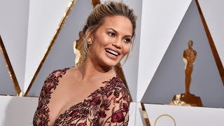 Chrissy Teigen Laughs Off Nip Slip While On Stage at John Legend Concert -- Watch!
