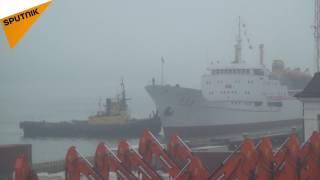 اولین کشتی گردشگری از کره شمالی وارد روسیه شد