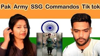Indian Reaction on Pakistan Army SSG Commandos Tik Tok | Swaggy d