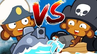 Bloons TD Battle   WHICH IS BETTER!? BLOONS SUB VS BLOON BUCCANEER!   JeromeASF