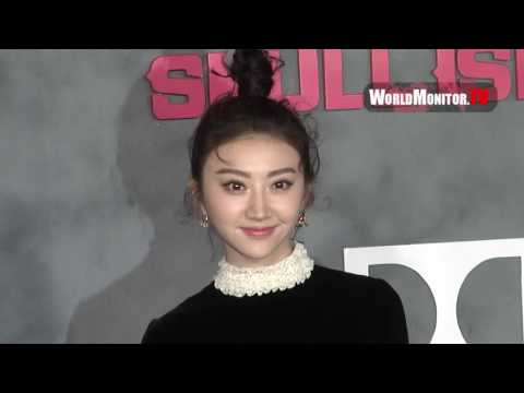 Tian Jing arrives at 'Kong: Skull Island' Los Angeles film premiere