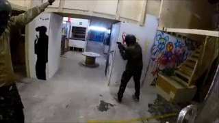 The Back Alley CQC, Airsoft Academy + K 15 Games 24.8.2014
