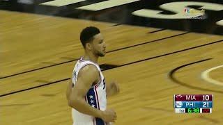 Quarter 1 One Box Video :76ers Vs. Heat, 10/12/2017