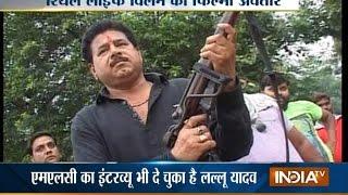 Real Life Mafia Don Lallu Yadav Turns Reel Life Hero - India TV