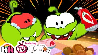 Om Nom Stories: THE PRANK WAR | Cartoons for Children | Funny Cartoons | HooplaKidz TV