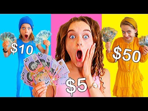 BUYING ANYTHING IN YOUR COLOR MONEY real Challenge by The Norris Nuts