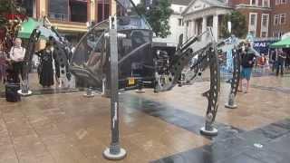 Mantis Hexapod Walking Machine 3