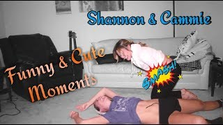 Shannon & Cammie - Funny and Cute Moments | Lesbian Youtubers