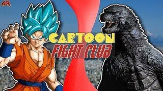 GOKU vs GODZILLA! (Dragon Ball Super vs Godzilla) | Cartoon Fight Club Episode 216