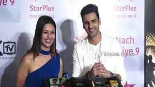 Divyanka Tripathi & Vivek Dahiya Full Interview at NACH BALIYE Season 9,Success Party