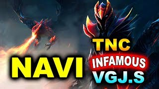 NAVI vs TNC+INFAMOUS+VGJ.S - GROUPS FINAL - MDL Minor DOTA 2