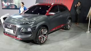 Hyundai Kona Electric SUV in Hindi | Auto Expo 2018 |  MotorOctane