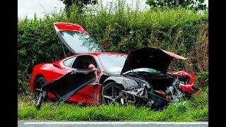 EXPENSIVE LUXURY CAR CRASH COMPILATION SEPTEMBER 2017 DRIVING FAILS