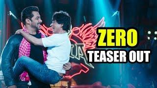 Zero - Eid Teaser Out | Shahrukh Khan | Salman Khan | Aanand L Rai | 21 Dec 2018