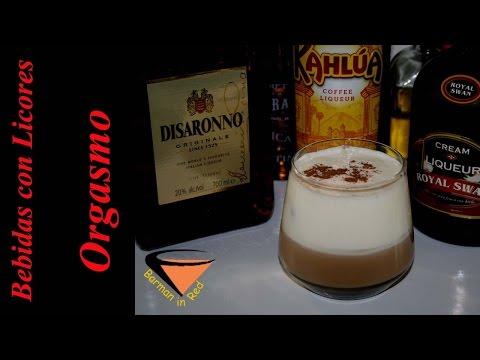 COMO HACER EL COCTEL ORGASMO I Bebidas con Licores