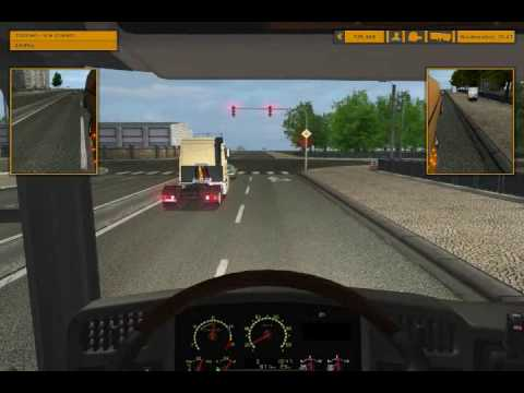 Euro Truck Simulator Post USSR Map Mod Scania R620 part 1