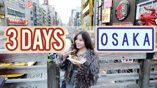 3 Day Trip to Osaka & Nara | JAPAN Vlog