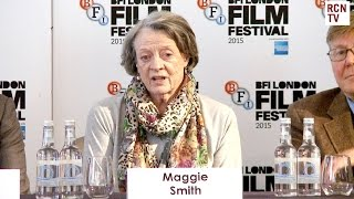 Maggie Smith Interview The Lady In the Van Premiere