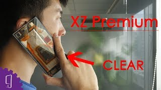 XZ Premium Clear Back Cover --- FIRST!!!