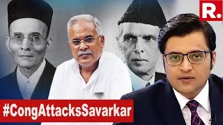 Congress Absolving Jinnah Role In Partition? | The Debate With Arnab Goswami