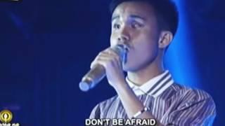 Tawag Ng Tanghalan champ Blind Singer Carl Malone sings 'My Love Will See You Through,'
