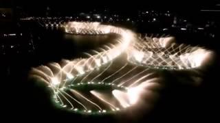 Dubai water show 2014