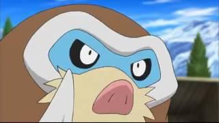 Pokémon A série xy  Sobre A Montanha De Neve! episódio 83 dublado