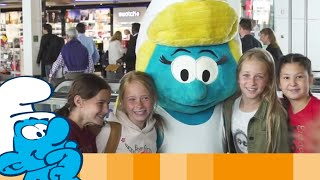 Brussels Airlines And The Smurfs Wish You Smurfy Holidays • The Smurfs