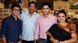 Gaurav Chakrabarty Family Album   Actor Gaurav Chakraborty with his Family