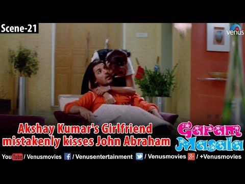 Xxx Mp4 Akshay Kumar S Girlfriend Mistakenly Kisses John Abraham Garam Masala 3gp Sex